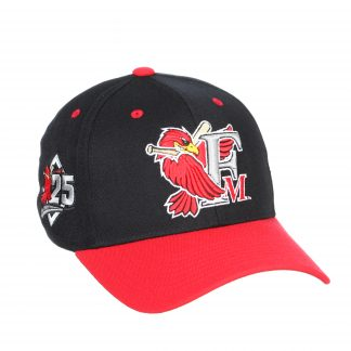25th Anniversary RedHawks Team Hat for 2021